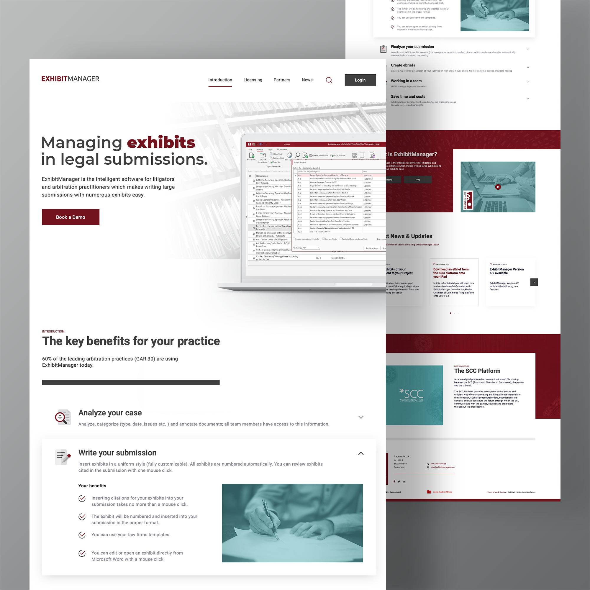 Individuelles WordPress Webdesign - Jurist, Anwalt, Anwaltskanzlei