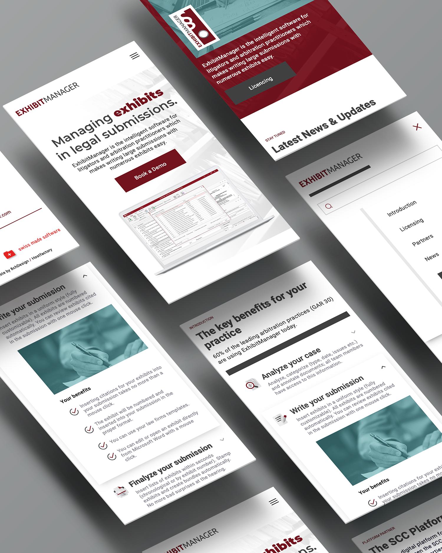 Individuelles mobile WordPress Webdesign - Jurist, Anwalt, Anwaltskanzlei