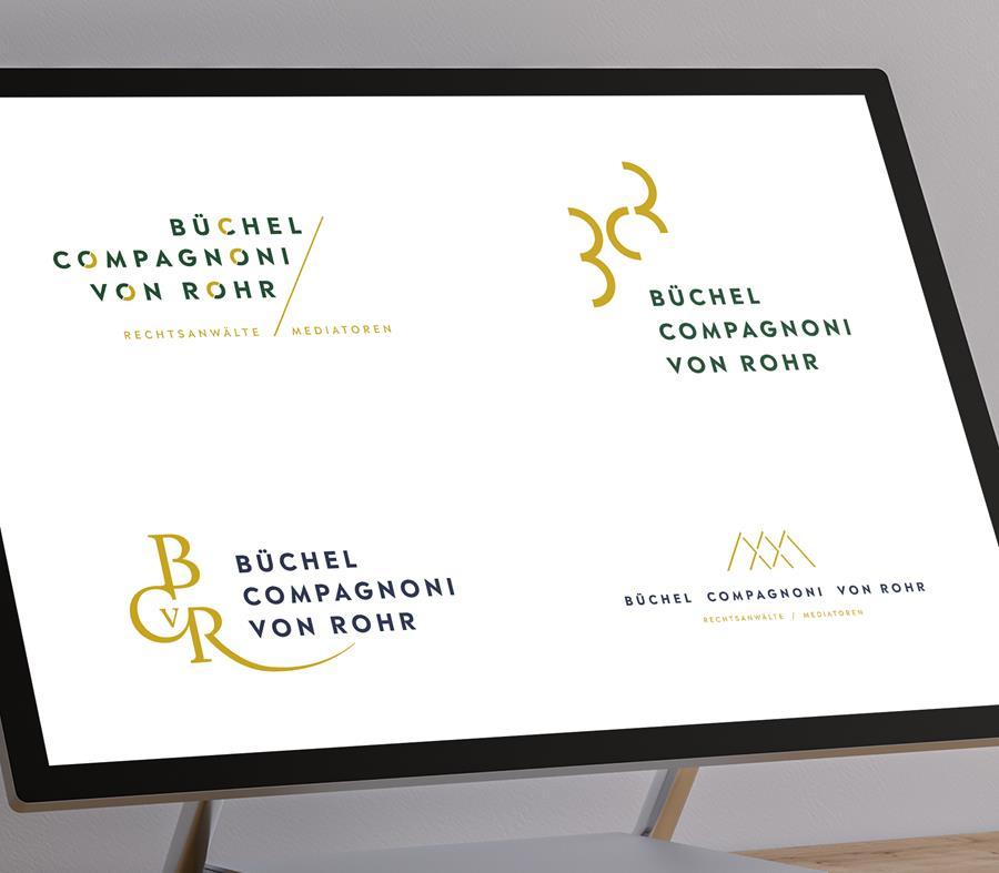 Logodesign / Branding Anwaltskanzlei Zürich - by 8chDesign - Schweizer Agentur für Logodesign